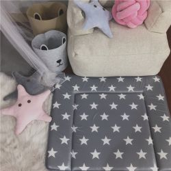Fraldas para bebés de luxo mudando as fraldas pastilhas de mesa tapetes de atendimento