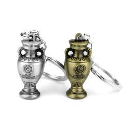 La catena chiave del metallo smazza la decorazione della vita degli uomini creativi di personalità della catena chiave della tazza della tazza di mondo del boutique personalizzata