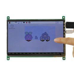 تعمل لوحة LCD HDMI لشاشة LCD مقاس 8,8 بوصة ذات 40 سنًا 1280X320