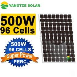 ホーム使用のためのモノラル太陽電池パネル25年の保証96のセル500W