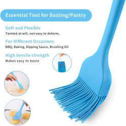 Silicone che unge le spazzole di pasticceria termoresistenti dell'insieme di spazzole