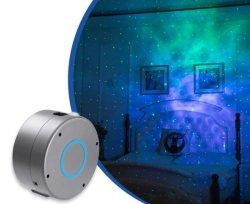 Cielo estrellado de la galaxia gira LED Star Night el logotipo de Proyector de luz láser de DJ de discoteca