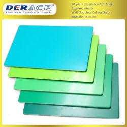 4mm/0,3 mm buiten PVDF PE 3D Wandbekleding Acm Aluminium Composite Panel