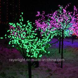 LED de plein air Cherry Blossom Feux d'arbres de Noël Décoration
