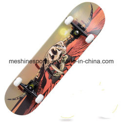 Logotipo impreso Street Cruiser Skate Deck de madera de arce