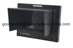 """Panel de IPS de 1280x800 Director 7"""" el monitor LCD con YPbPr, 3G HD-SDI, entrada HDMI para Broadcast & Fotografía"""