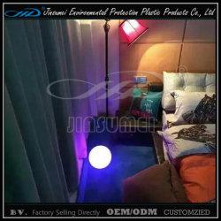 Mobiliário de bola de iluminação LED com PE plástico para a decoração da casa