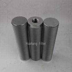 Remplacement fritté en acier inoxydable MBS1001PDH13 MBS1002PEH13 air/eau/filtre à huile pour l'industrie