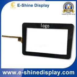 """Aangepast 7 """" paneel/het scherm/vertoning met dekkingslens/glas van de Aanraking van het Glas voor vertoning"""