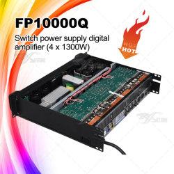 Amplificatore di potere di alto potere del sistema acustico di PA di Fp10000q audio