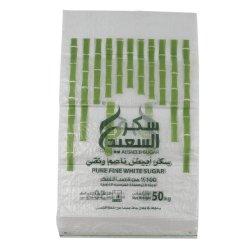 25kg および 50kg 袋の精製された白い杖 ICUMSA 45 の砂糖