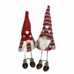 クリスマスの装飾的なエルフの人形のクリスマスのプラシ天のおもちゃ