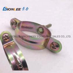 Enchufe rápido latón abrazaderas de tubo galvanizado abrazaderas abrazadera del tubo de gas