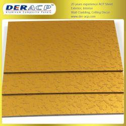 4мм/0,3 мм гранита алюминиевых композитных панелей Acm для украшения элеватора