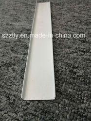 6063 het poeder bedekte het Witte U-vormige Profiel van de Uitdrijving van het Aluminium met een laag