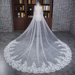 De in het groot Sluiers Ts5505 van het Huwelijk van het Kant Lange Bruids