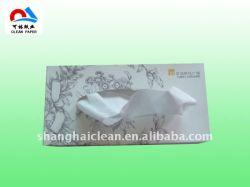Пользовательское поле печати/пластиковый пакет бумажные салфетки для лица