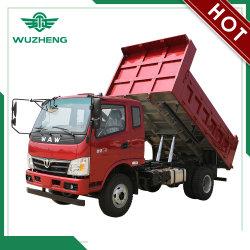 Waw 4*2 8 Ton Camión Volquete con motor Euro 4 y transmisión de las áreas de construcción Mannual