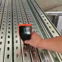 Z275 galvanisé à chaud PV Support de fixation du support de fixation en acier de fer de la construction de matériaux de construction
