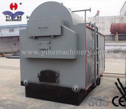 Le contreplaqué Hot Hot Appuyez sur la machine à cycle court Appuyez sur la conduite de travail d'ébullition de journal de bois Chaudière d'huile de machine, Yihe bois de feu, charbon, gaz naturel Chaudière Biomassoil Machine