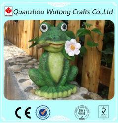 Figurine en résine de gros de la grenouille la décoration de jardin