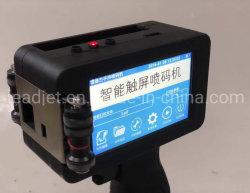 Ordinateur de poche pour la date de l'imprimante jet d'encre impression de code à barres sur le carton/PVC/papier