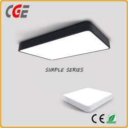 Lampes LED pour panneau mince ronds et carrés 12W/15W/18W/21W/24W/30W voyant de panneau à LED de lumière au plafond