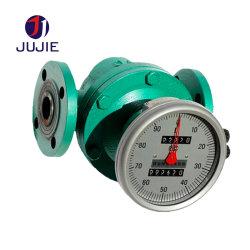 Contatore ovale meccanico dell'attrezzo per l'asfalto del diesel/benzina/cherosene/petrolio idraulico/olio lubrificante/colla
