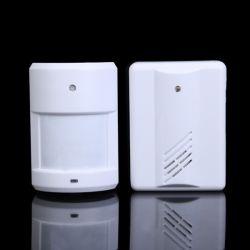 De infrarode Deurbel van het Alarm van de Sensor van de Motie Draadloze