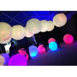Luz LED populares juguetes inflables globos decoracion fiesta