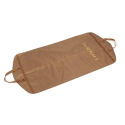 卸売はジッパーロックのハンドルが付いている贅沢なFoldable衣服カバースーツの塵の証拠袋をカスタマイズした