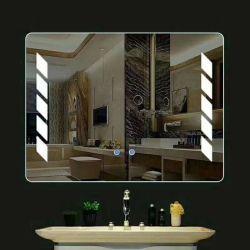 Miroir Anti-Fog Salle de bains en verre LED personnalisé