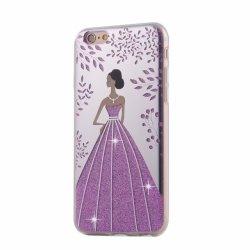 Сотовый телефон крышку Crystal Блестящие цветные лаки мелочь принцесса TPU чехол для Motorola M