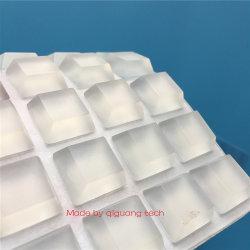 OEM Custom varios forma alta viscosidad, piezas de caucho de silicona adhesivo/Non-Slip almohadillas de los pies de goma