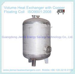 جهاز تغيير الحرارة الصناعي بحجم مع ملف لولبي من Cooper Floating