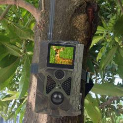 إطار مموّه HC-500m Sport HD Hunting Trail Cameras 12MP GPRS كاميرا GSM SMS للحياة البرية