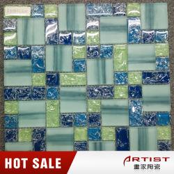 Neue und Seeart gebrochene Glasmosaik-Fliese-Fertigkeit