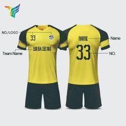 Om het even welk ontwerpen de Vrije Overhemden van de Voetbal van Jerseys van het Voetbal van de Reeksen van de Douane van de Jonge geitjes van de Sublimatie van de Club van het Team van de Sport van Futball van de Steekproef