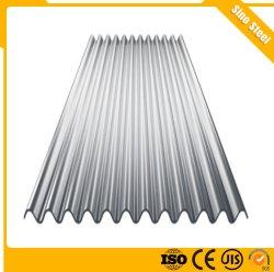Utilisé la toiture en métal galvanisé acier ondulé Feuille de GI