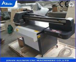A1 6090 LED UVflachbettdrucker für Plastiksilikon-Leder-mobilen Deckel