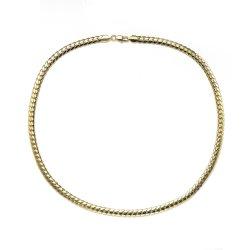 Braccialetto Chain d'ottone in monili dell'ottone di modo dell'oro di 14K 18K