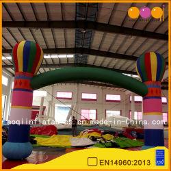 Balões coloridos porta insuflável de PVC de cava-de-insufláveis personalizados (AQ5323)