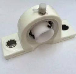 Rolamentos montados Pillow-Block Agora com caixas termoplásticas. Os insertos do mancal de rolamento de aço inoxidável