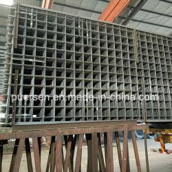 Panel de malla soldada reforzada de acero galvanizado o Untreatment hormigón reforzado la malla de alambre