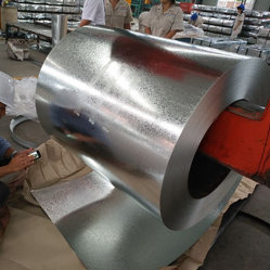 Matériau de toiture SGS Feuille d'acier de construction de la bobine d'acier galvanisé