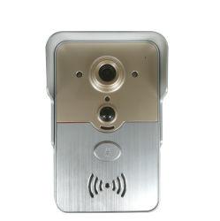 無線WiFiのビデオドアの電話通話装置の前部ドアベルのカメラ