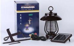 Im Freien Lampen-elektrische Moskito-Tötung-Maschinen-Solarinsekt-Mörder Luz Solarsolarlampen-Solarlicht
