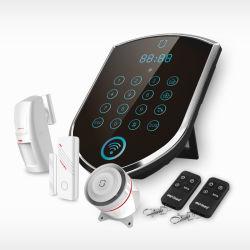 Hauptalarmanlage-Sicherheit System/GSM + WiFi drahtlose Hauptgeschäfts-Sicherheit mit IP-Kamera