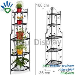 Salón de estante de la pantalla metálica para rack de soporte de flores