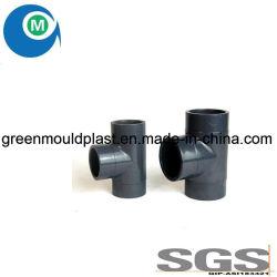 Gomito del PVC della plastica dell'OEM grandi/stampaggio ad iniezione dell'accessorio per tubi della curvatura